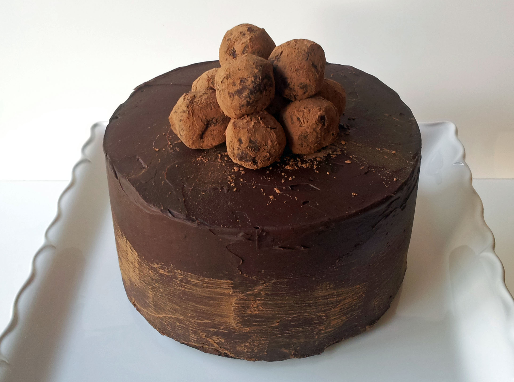 Chocolate Truffle Cake Images : Chocolate Truffle Cake Delish
