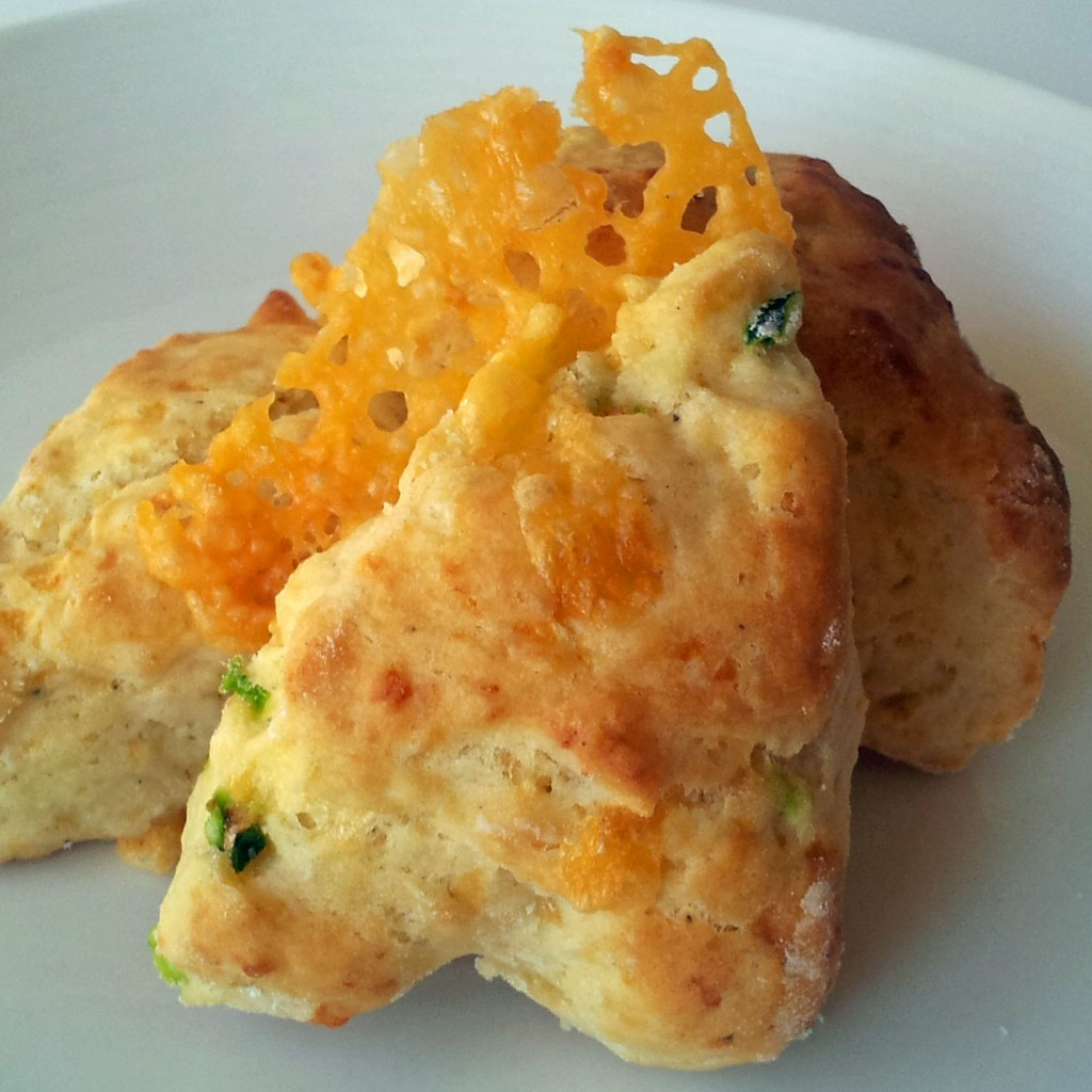 jalapeno and cheddar scone