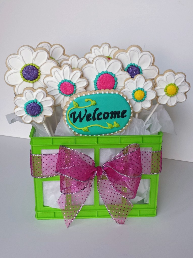welcome flower