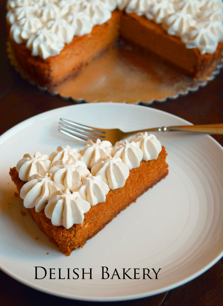 Pumpkin Banana Mousse Tart