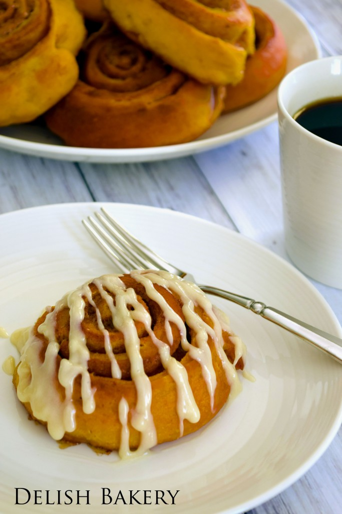 Pumpkin Cinnamon Roll